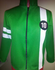 New Ben 10 Jacket Knit or Fleese Costume All Sizes