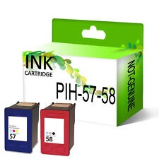 Remanufactured Generic Ink Cartridges Replace For Officejet Printer 57 & 58