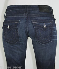 True Religion Woman's Designer Billy Disco Crystal Stretch Fashion Jeans Pants