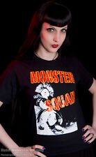 MONSTER SQUAD #2 shirt MOHAWK PUNK STREET POGO 77 OI CHAOS DIY ROCK HARDCORE US