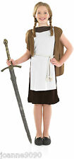 GIRLS MEDIEVAL VIKING GIRL SCHOOL CURRICULUM FANCY DRESS COSTUME BOOK WEEK DAY