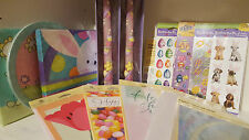 Your Choice Easter Themed Cards Napkins Plates Stickers Tissue Taper Candles