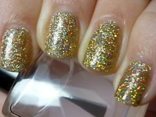FINE GLITTER DUST BLING SPARKLY GOLD RAINBOW NAIL ART 4 GEL/NATURAL/ACRYLIC #5