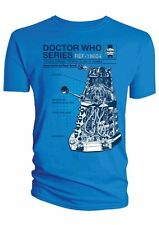 Doctor Who Haynes Owners Workshop Manual T-Shirt Critical Dalek Official