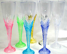 12 Plastic Champagne Toasting Cups Wedding Events All Occasion You Choose Color
