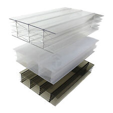 25mm Polycarbonate Sheet Conservatory Lean-To Carport Canopy Roof Glazing
