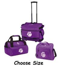 Top Quality Purple Pawprint Luggage Bags & Totes Great for Travelers FREE SHIP