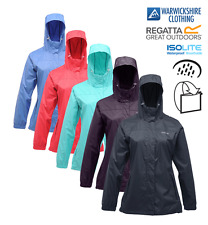 Regatta Ladies Big Size Jacket Breathable Waterproof Pack-In A Bag Size 20 - 26