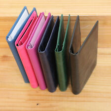New Mens Wallet KOREA -173 Travel Bifold Passport Leather Cover Holder Purse