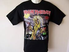 *NEW* OFFICIAL IRON MAIDEN KILLERS MENS BLACK T SHIRT SIZES S M L XL XXL