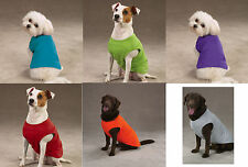 Basic Dog Tank top tee T-shirt Stretchy cotton pet apparel xxs xs xlg in 4 color