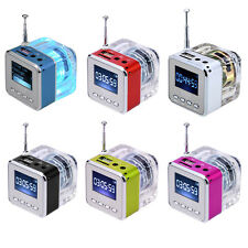 Portable Mini Speaker USB HiFi Music MP3/4 Player Micro SD TF USB Disk FM Radio