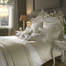 Kylie At Home Yarona Oyster Bedlinen---Free P&P---Next day despatch