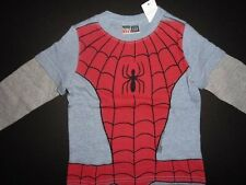 NWT Baby Gap 12-18 18-24 Junk Food Spiderman I'm Amazing T-shirt Top