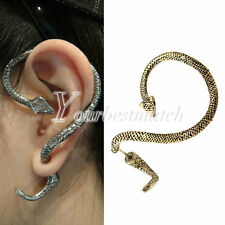 Girl's Fashion 1PC Animals Snake Vintage Gothic Punk Ear Cuff Earring Wholesale