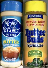 All Natural Fat Free Butter Flavored Sprinkles Granules Kosher No Fat ~ Pick One