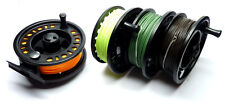 Cassette Fly Reel with 4x Installed Fly Lines inc. Float/Int/Sink & Fast Sink
