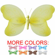 Butterfly Decor Ceiling Wall Hanging Girls Room Baby Nursery Nylon Butterflies