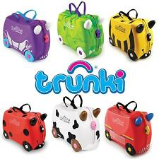 Trunki Ride-On Suitcase - Kids Pull Along Hand Luggage - Free UK Delivery!