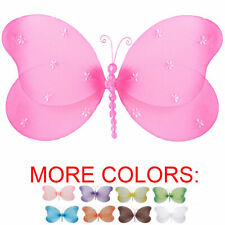 Butterfly Decor Nylon Hanging Wall Ceiling Baby Nursery Bedroom Decoration Girls