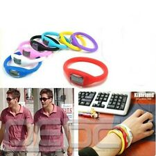 Unisex Fashion Silicone Ion Jelly Rubber Bracelet  Wrist Sports Watch Wholesale