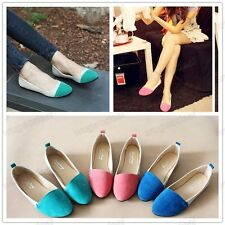 New Relaxation Comfort 3 Colors Women Girl Shoes Ballet Low Heels Flat Loafers