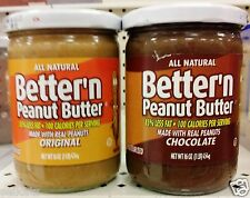Better'n Peanut Butter Low 85% Less Fat Diet 40% Less Calories ~ Pick One