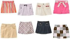 NWT Gymboree Skort Skirt Sizes 3 4 5 6 Many Styles U Pick