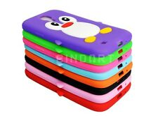 New Cute Penguin Soft Silicone Cell Phone Case Cover For Samsung Galaxy S4 i9500