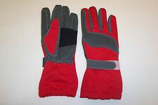 KART RACING GLOVES HIGH QUALITY IN RED   SIZES XXS  -  XXL