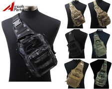1000D Molle Tactical Military Hiking Utility 3 Ways Shoulder Bag Pouch Backpack