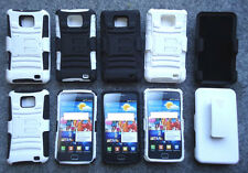 Samsung Galaxy S2 S959 SGH-S959G SUPER HYPER ARMOR Case With Belt Clip Holster