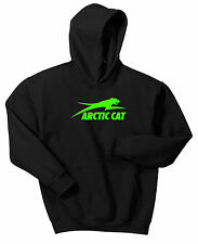 ARCTIC CAT HOODIE SWEAT SHIRT PROWLER ATV SLED UTV WILDCAT SNOWMOBILE PULLOVER