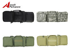 Airsoft Tactical Dual AEG Rifle Carrying Case Bag 85CM 3 Colors Black/Tan/OD