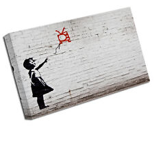 BANKSY GIRL WITH BALLOON CANVAS ART PRINT WALL PICTURE BA15
