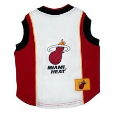 Miami Heat NBA Pet Dog Jersey Tank Red  (all sizes)