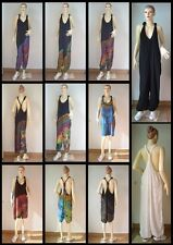 Jumpsuit Pants Maternity Gypsy Hippie, Choice of Black, Off White or Tie Dye