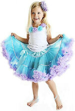 2pcs Baby Girl Kid Top+Tutu Pageant Party Dress Skirt Costume Outfit Clothes