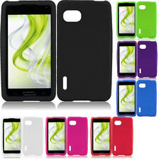 For Sprint LG Optimus F3 LS720 Rubber SILICONE Skin Soft Gel Case Phone Cover