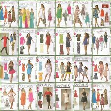 McCalls Sewing Pattern Misses Dress with McCall's Plus Size Dresses Your Choice