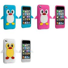 For iPod Touch 4th Generation 4G Color Penguin Cute Silicone Gel Skin Case Cover