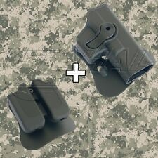 IMI Defense - Glock 19 / 23 / 32 Roto Combo Holster Mag. Pouch Kit - 1020 MP00