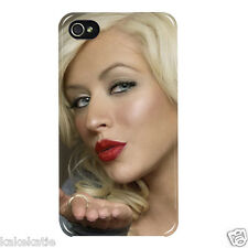 Christina Aguilera iphone 4 and 4s hard back case skins cover for i phone Dirty