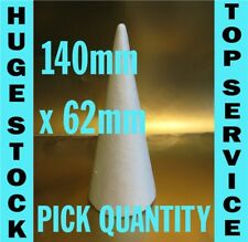 15cm 150mm tall Polystyrene Cones CHOOSE QUANTITY christmas craft, sweet trees