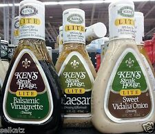 Ken's Steak House Salad Dressing & Marinade Dipping ~ Pick One
