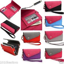 Women Smart Wallet with hand straps and credit card Holder for any Smartphone