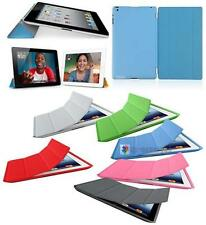 Magnetic Smart Cover Case W/Stand + Ultra Slim Back Cover for iPad 2/3/4 16Color