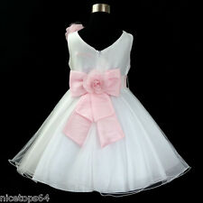 668 Christening Royal Celebration Flower Girls Dress SIZE 1-2-3-4-5-6-7-8-10-12T