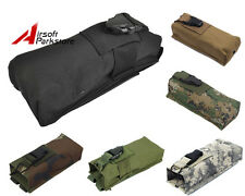 Tactical Military Police Hunting Walkie Talkie Molle Radio Pouch Bag PRC148