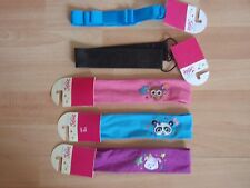 NWT GIRLS JUSTICE HEADBAND BLACK, PINK, TURQUOISE, PURPLE U PICK!!!!